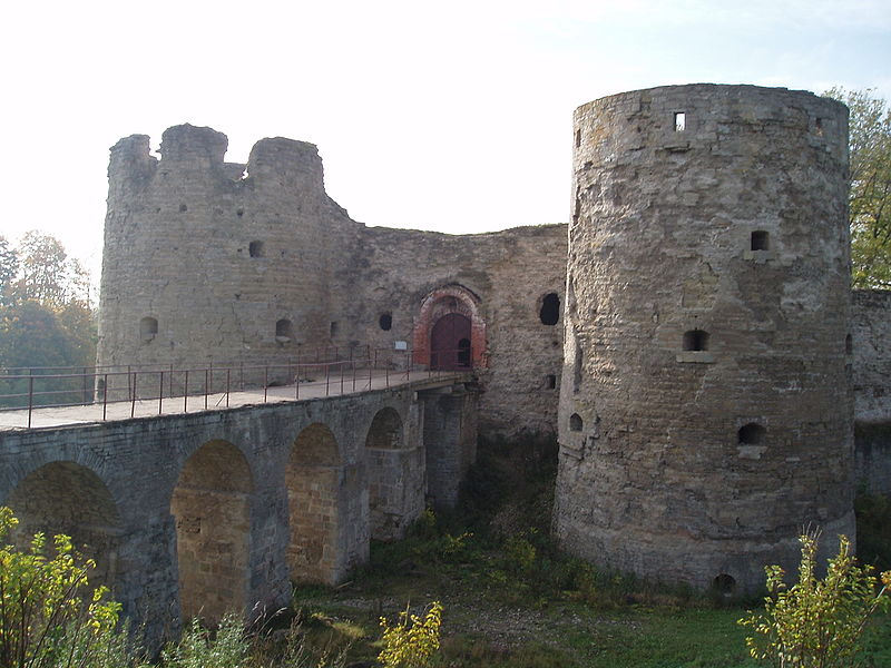 Fail:Koropye fortress entrance.jpg
