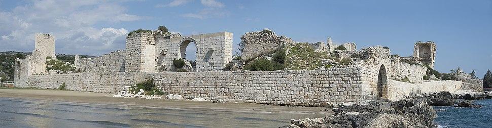 Korykos Land Castle 6959 panorama