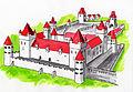 Koszeg castle reconstucted.jpg