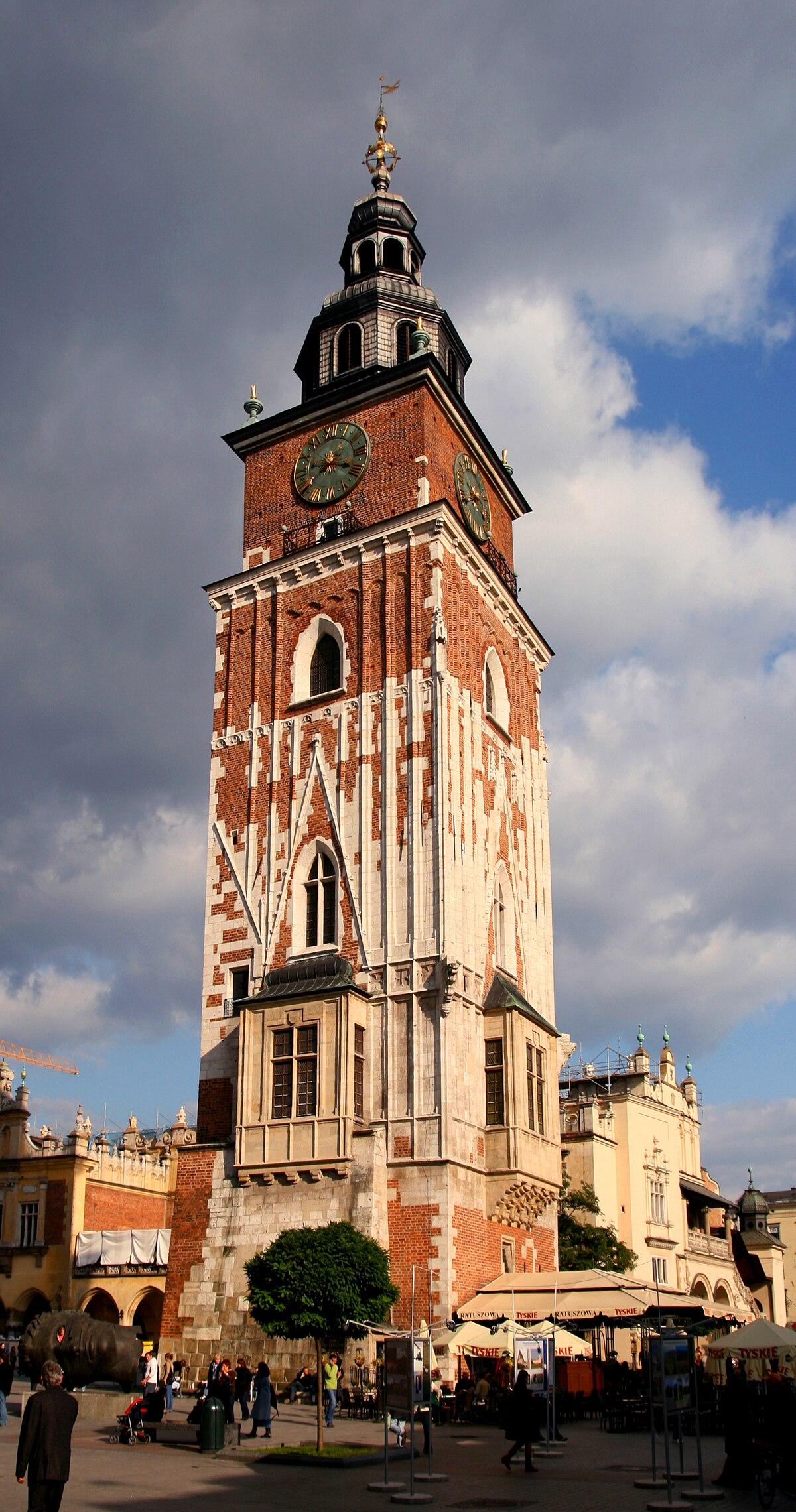 Town Hall Tower, Kraków - Wikipedia