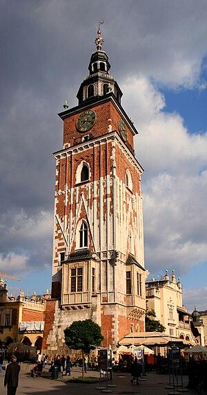Town Hall Tower, Kraków - Town Hall Tower in Kraków