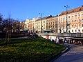 Krakov, Stare Miasto, Planty, podchod a ulice.JPG
