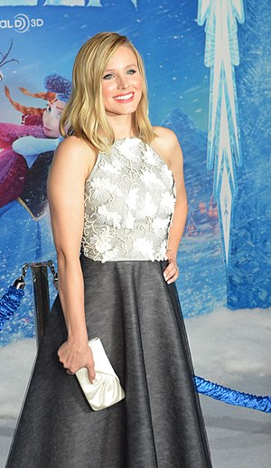 Kristen Bell - Bell at the premiere of Frozen in 2013