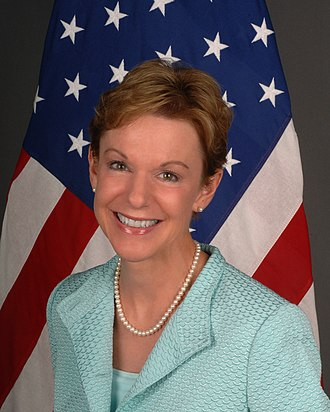 Counselor of the United States Department of State - Image: Kristie Kenney new