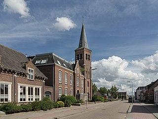 Kruisland Village in North Brabant, Netherlands