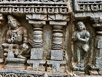 Namaste - Image: Kubera Namaste, 13th century Keshava temple Somanathpur