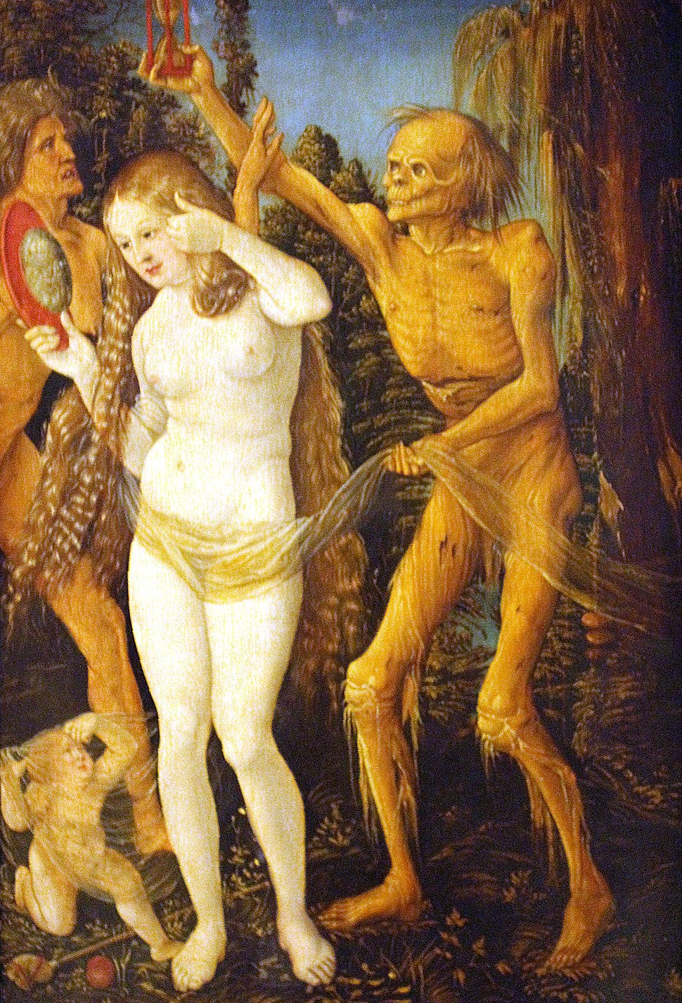 Kunsthistorisches Museum Wien, Hans Baldung, der Tod und das Mädchen