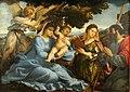 Kunsthistorisches Museum Wien, Lorenzo Lotto, Maria mit dem Kind und Hll. Katharina und Jakobus d. Ä..JPG
