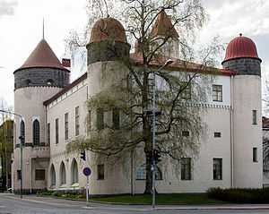 Kuopio - Kuopio Museum in a National Romantic style building