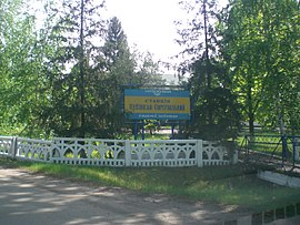 Kupiansk-Sortuval'nyj Train Station.JPG