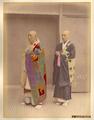 Kusakabe Kimbei - 14 Buddhist Priests.png