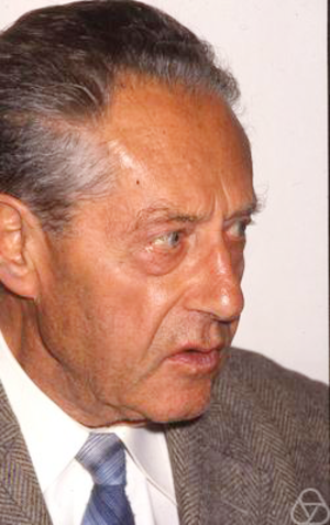 László Fejes Tóth - László Fejes Tóth,1991. Photo by Ludwig Danzer