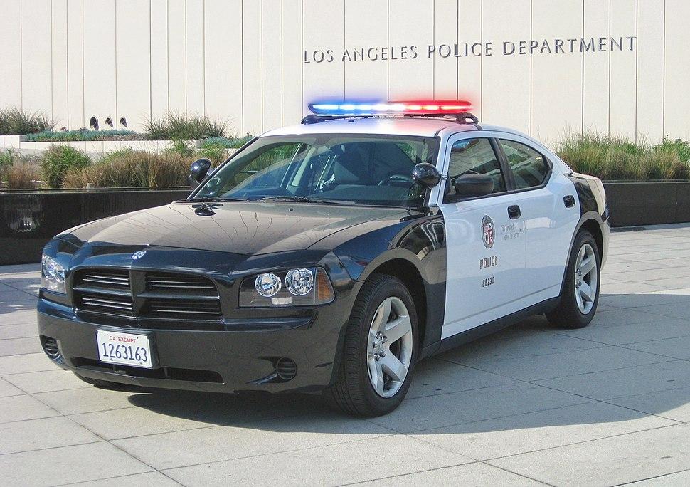 LAPD Dodge charger (lights)