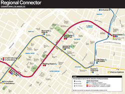 LA Metro Regional Connector map.png