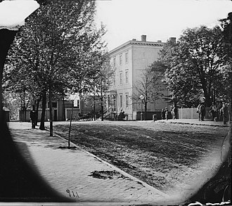 White House of the Confederacy - White House of the Confederacy, 1865, Library of Congress