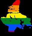 LGBT Flag map of Nunavut.png