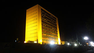 Life Insurance Corporation - LIC Building at Chennai, was the tallest building in India when it was inaugurated in 1959
