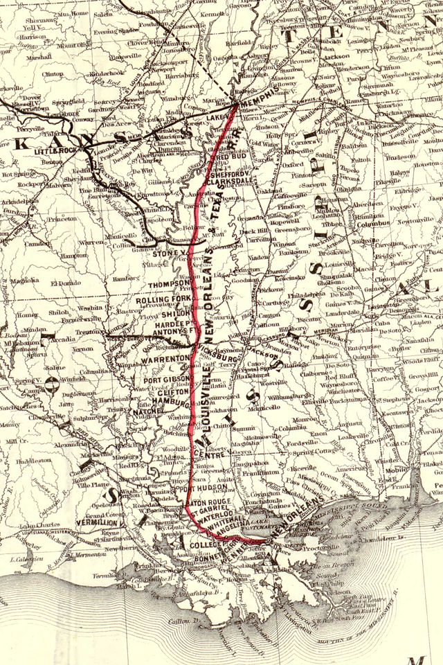 Louisville, New Orleans and Texas Railway - Wikiwand