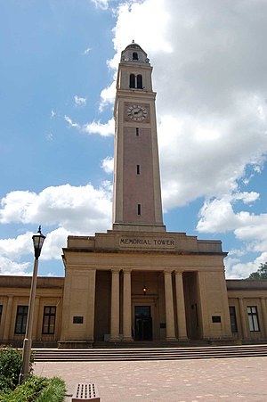 Memorial Tower - Memorial Tower of LSU