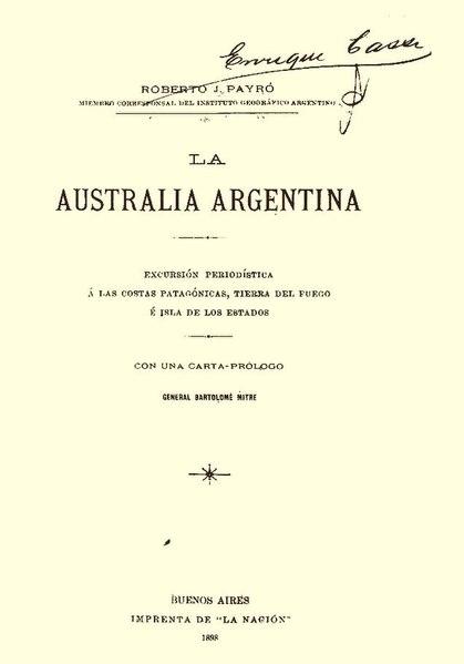 File:La Australia argentina - Roberto J. Payro.pdf
