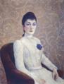 La Dame à la Robe Blanche, Dubois-Pillet.png