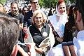 La alcaldesa de Madrid asiste a la misa de San Isidro oficiada en la Pradera 01.jpg
