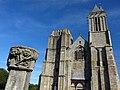 La façade occidentale de la cathédrale Saint-Samson - Vue générale 01 - Dol-de-Bretagne.jpg