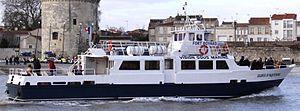 La vedette de promenade en mer Eudes d' Aquitaine.JPG