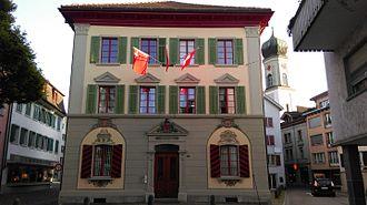 Lachen, Switzerland - Image: Lachen altes Rathaus