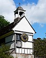 Lacock Abbey. The Brewhouse Clock. - panoramio.jpg