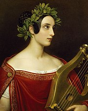 Lady Theresa Spence as Sappho, by Joseph Stieler 1837.JPG
