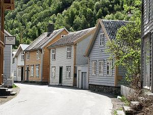 Sogn og Fjordane - Image: Laerdalsoyri 03