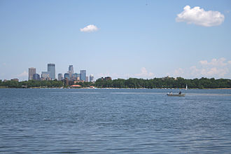 Geography of Minneapolis - Lake Calhoun