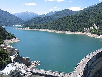 Kurobe Dam - Lake Kurobe