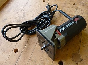 English: laminate trimmer router