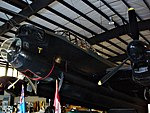 Lancaster FM159 nose at Bomber Command Museum Canada Flickr 3242620587.jpg