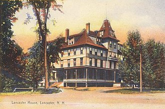 Lancaster, New Hampshire - Image: Lancaster House in Lancaster, NH