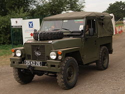 Land Rover, licence registration '05 KD 26'.JPG