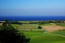 Landscape seen from Ellemandsbjerg