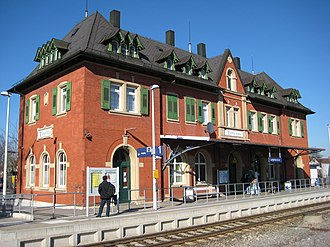Langenau - Train station