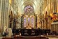 Laon, Cathédrale Notre-Dame, the choir barrier.JPG