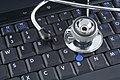 Laptop and stethoscope (6123892769).jpg