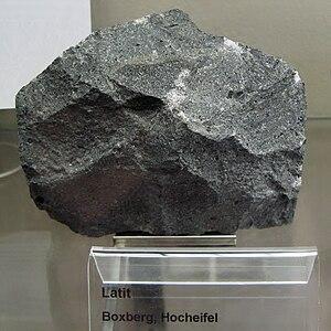 Latite - Latite from Boxberg, High-Eifel, Germany