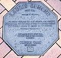 Lauris Edmond memorial plaque in Dunedin.jpg