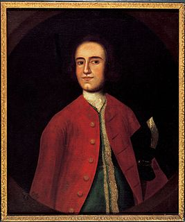 Lawrence Washington (1718–1752) Virginian soldier, planter, politician, and prominent landowner in colonial Virginia