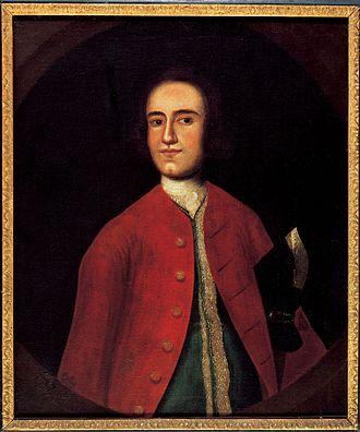Lawrence Washington (1718–1752) - Image: Lawrence Washington