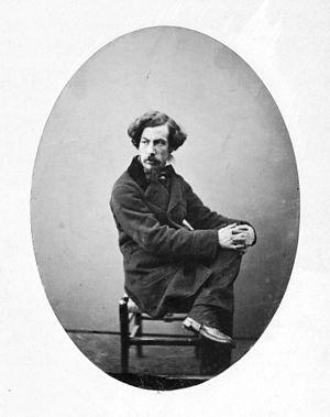 Gustave Le Gray - Self Portrait (circa 1851)