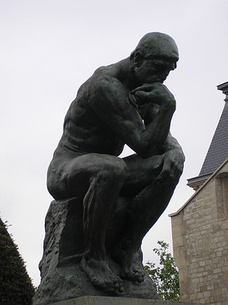 Musée Rodin - Image: Le Penseur in the Jardin du Musée Rodin, Paris May 2005