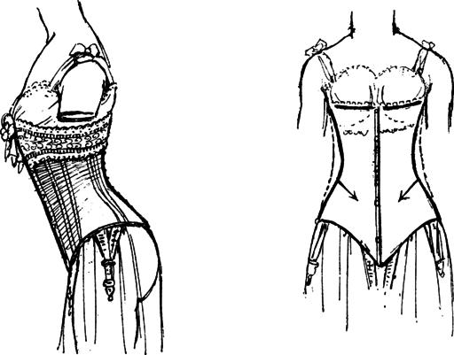 Le corset a la derniere mode