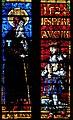 Le duc Antoine de Lorraine et son saint patron sur un vitrail de la Cathédrale de Metz.jpg